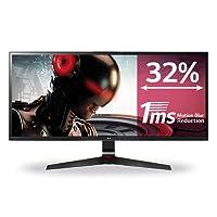 LG 34UM69G-B  Écran PC LED IPS - 34'' - 21:9 - 2560 x 1080 - 250cd/m² - 5 ms - Noir (HDMI, DP, USB-C) - Haut-parleurs Intégrés