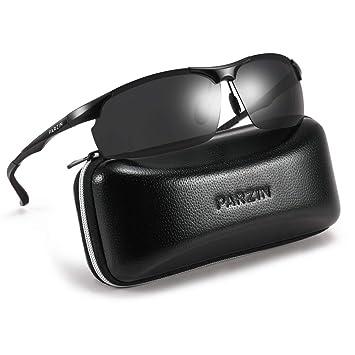 Amazon.com: Parzin - Gafas de sol deportivas para hombre ...