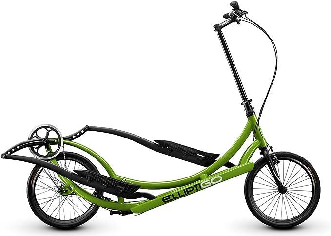 ElliptiGO 3 C – La Primera del Mundo Al Aire Libre Bicicleta Elíptica y su Mejor Interior Bicicleta elíptica, Verde: Amazon.es: Deportes y aire libre