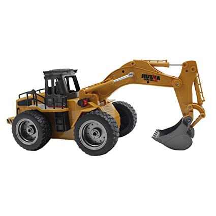 Toys & Hobbies Rc Trucks 1:18 Rc Excavator Remote Control 2.4g Excavator Simulation Truck Tractor Model Toy For Boy Christmas Gift