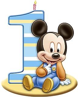 Amazoncom Mickey Mouse 1st Birthday Edible Image Photo Cake