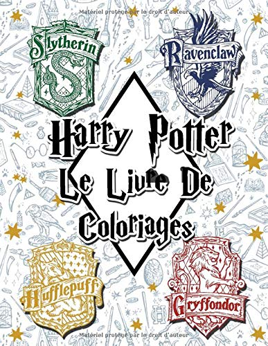 Amazon Fr Harry Potter Le Livre De Coloriages Clavette Perrin Livres