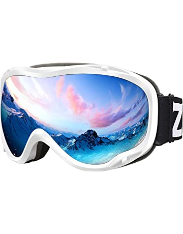 a3cb907932 Zionor Lagopus Ski Snowboard Goggles UV Protection Anti-Fog Snow Goggles  for Men Women Youth
