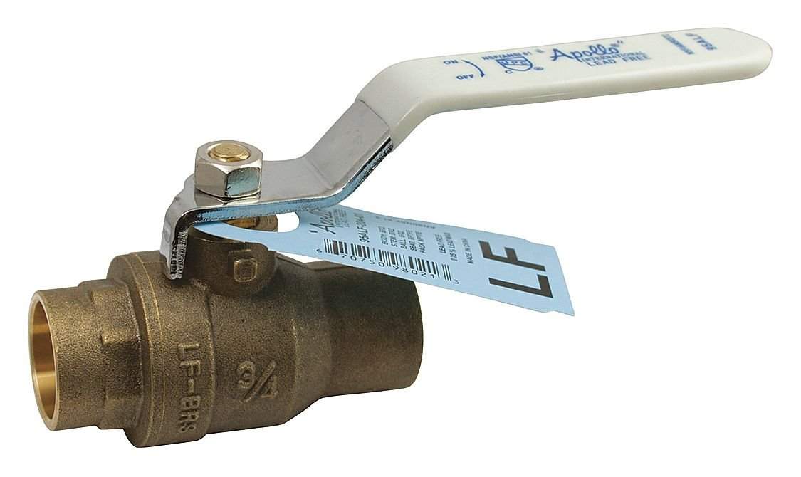 "Conbraco, 3/4"" Full Port Sweat Ball Valve, (Lead Free), 94ALF-204-01A"