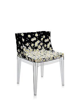 Kartell Mademoiselle Chair   Transparent, Moschino Fabrics Daisies