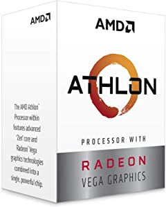 AMD Athlon 220GE with Radeon Vega Graphics Processor
