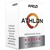 AMD Athlon 220GE - Procesador (AMD Athlon, 3.5 GHz, Enchufe AM4, PC, 14 nm, 220GE)