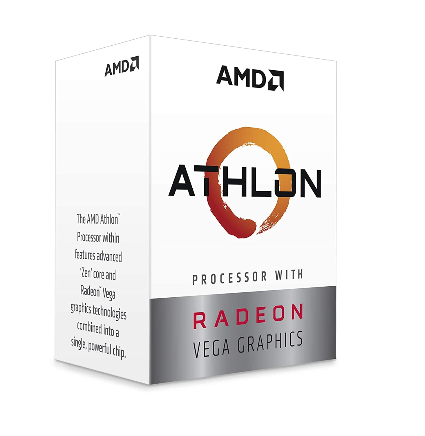 AMD Athlon 240 GE 3.5 GHz Skt AM4 L2 5 MB 35 W Pib in