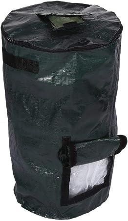 Bolsa de plantador de jardín, fermentación de residuos orgánicos Bolsa de compostaje de Tela PE Ambiental para jardín de Cocina de Fruta(01): Amazon.es: Hogar