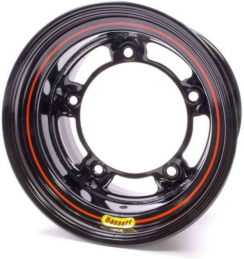 Bassett Armor Edge 15x10 in Wide 5 Black Wheel Rim P//N 50SR45