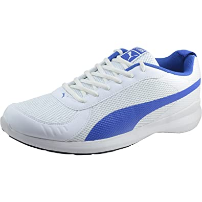 b59898e2b8744 Puma Men's Zenith IDP IDP Puma White-Lapis Blue Running Shoes - 9 UK ...