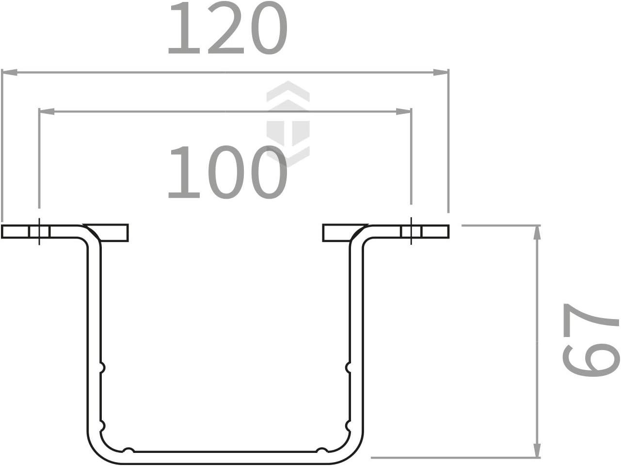 Marshall Tufflex uPVC Plastic Rainwater Gutter System Flush White Marshal Tufflex RWSC2WH Square Downpipe Clip