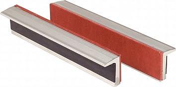 Trapeznutzen 914.0086 KS TOOLS Aluminium-Schraubstock-Schonbacken