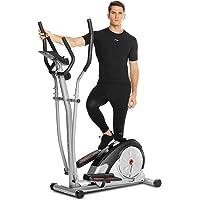 ANCHEER Bicicleta Elíptica de Fitness Elíptica para Casa 8/10 Niveles de Resistencia/Medición de Pulso/Inercia…