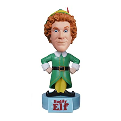 Funko Wacky Wobbler Elf the Movie Buddy Talking Bobble Head: Funko Wacky Wobbler:: Toys & Games
