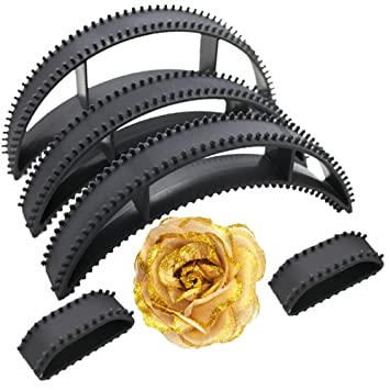 Majik Hair Bumpits With Golden Rose Clip (Combo Of 6 Pic) available at Amazon for Rs.219