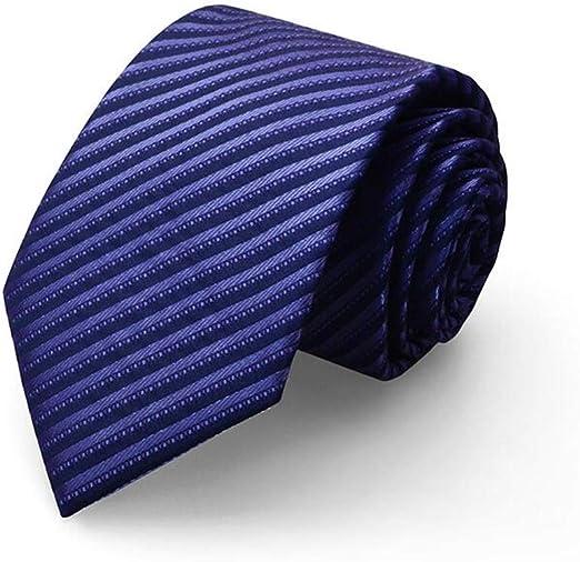 Corbata Hombre/Traje de Negocios/Boda Novio / 8cm / Azul y púrpura ...