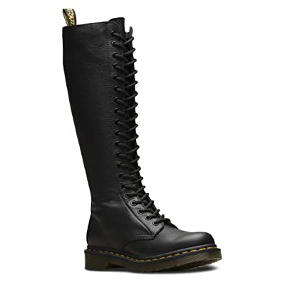 Dr. Martens - Women's 1B60 20-Eye Lace Up Knee High Leather Boot | Knee-High