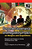 img - for Corporate Governance and Regulatory Impact on Mergers and Acquisitions: Research and Analysis on Activity Worldwide Since 1990 (Quantitative Finance) book / textbook / text book