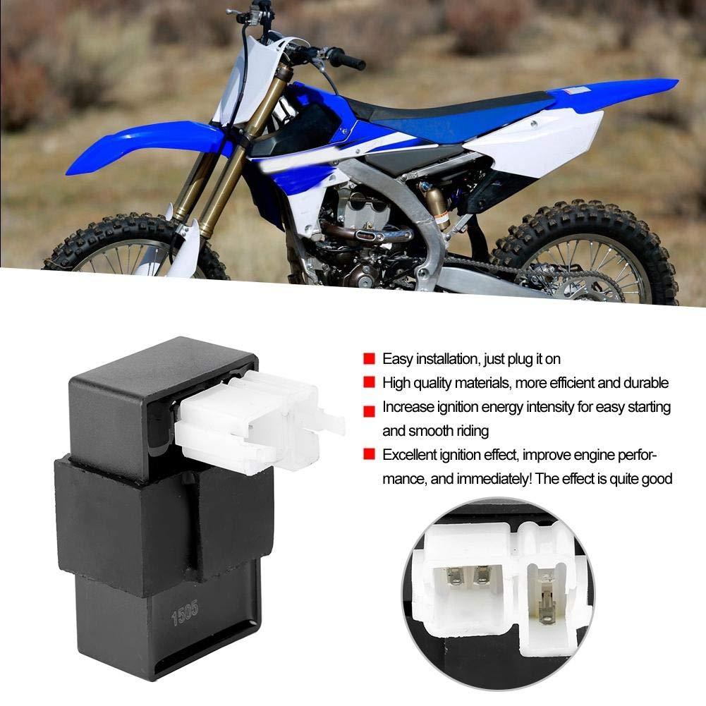 ABS 6 Broches CDI Allumage De Bo/îTe ForCG125 150 Moteur ATV Dirt Bike Cyclomoteur Moto Qiilu CDI Ignition