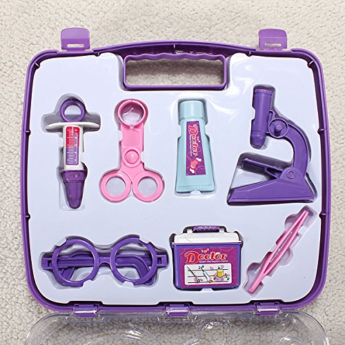 QOJA baby pretended doctor play set carry case medical kit by QOJA (Image #2)