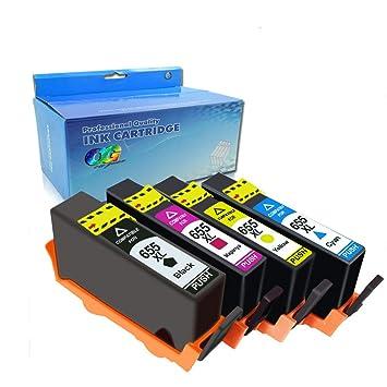Amazon.com: OGOUGUAN - Cartucho de tinta compatible con HP ...