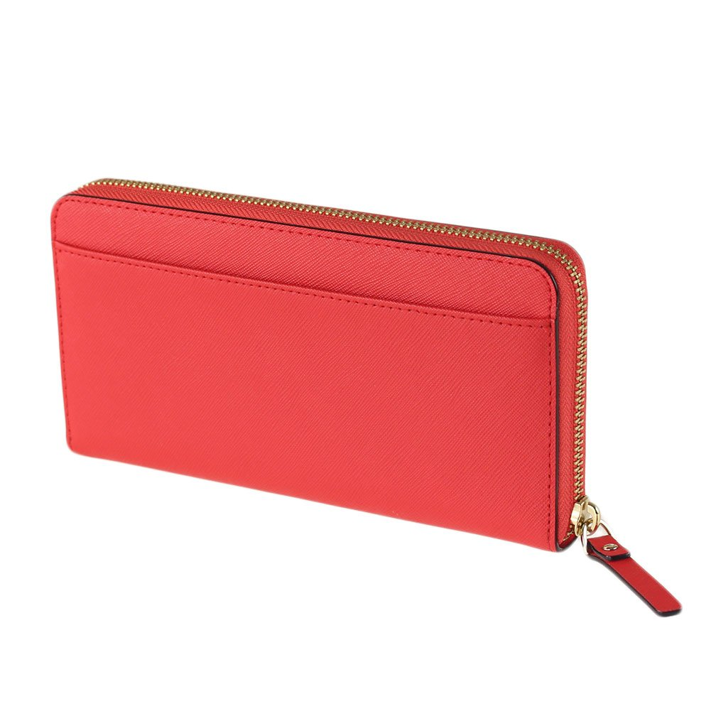 NWT Kate Spade New York Neda Laurel Way Leather Wallet Prikly Pear ... a20ae1d586