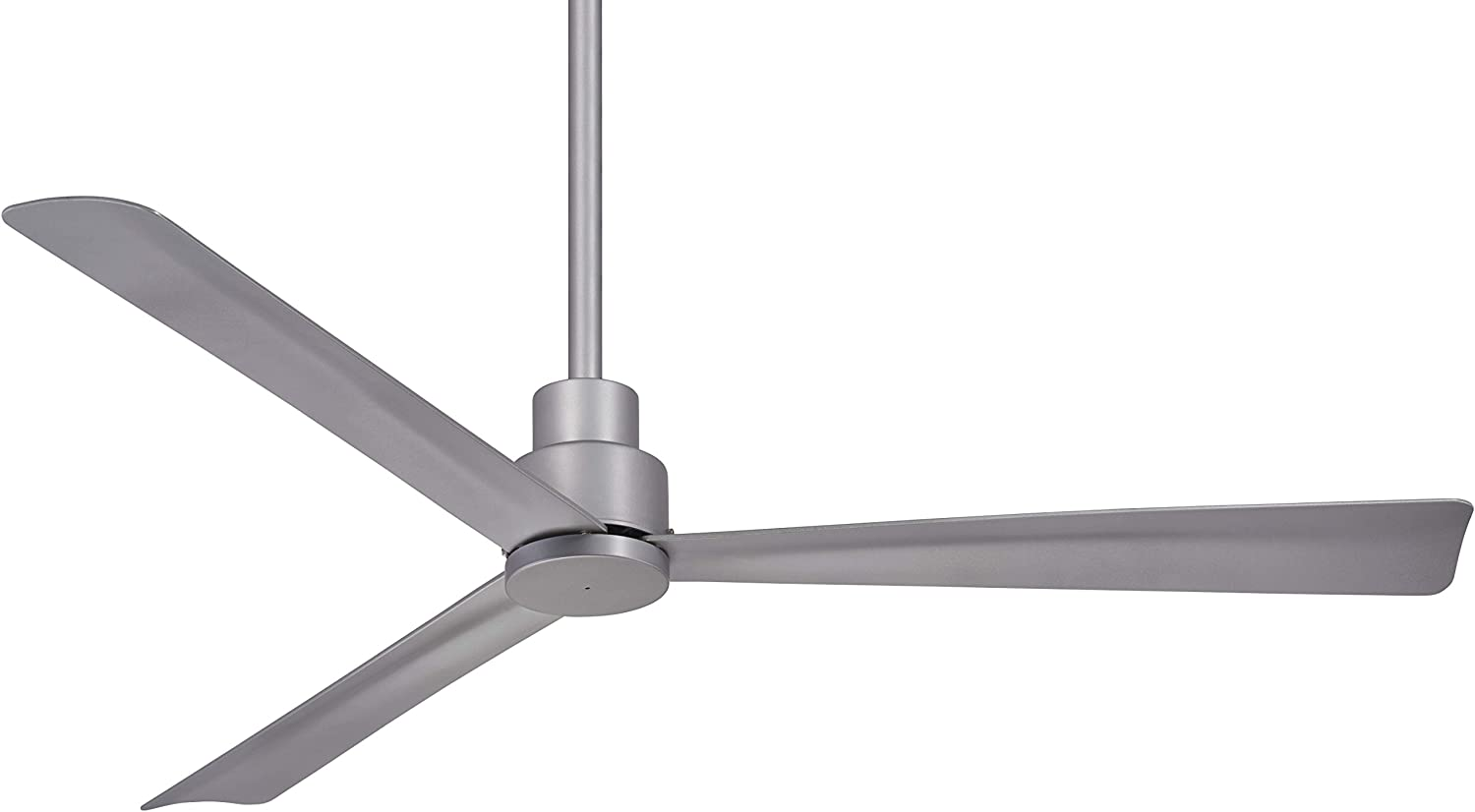 Minka Aire F786-SL Simple - 44 Inch Ceiling Fan, Silver Finish with Silver Blade Finish