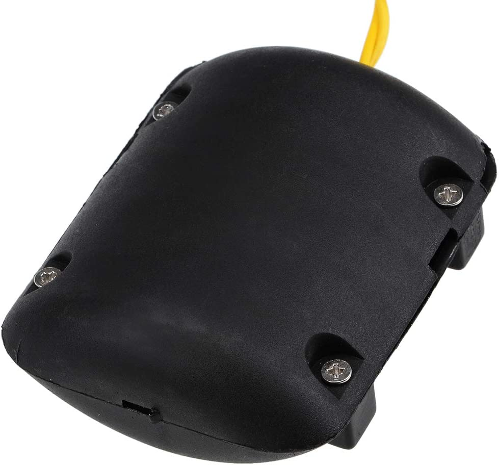 sourcing map Vibration Motors DC 12V 10mA 2200RPM Massager Vibrating Motor with Black Shell 67x56x28mm 2Pcs