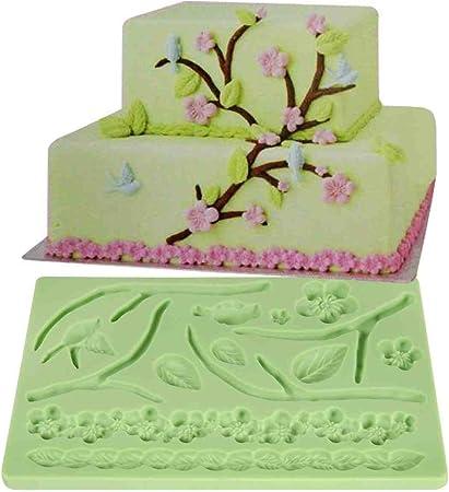 Moule silicone fleur pour pâte à sucre gâteau patisserie anniversaire mariage