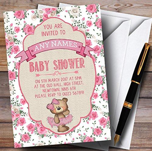 Ballerina Baby Shower Invitations - 7