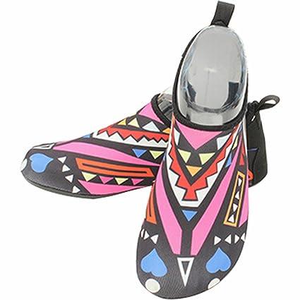 Unisex Barefoot Water Skin Shoes Aqua Socks for Beach Fitness Running Yoga Exercise