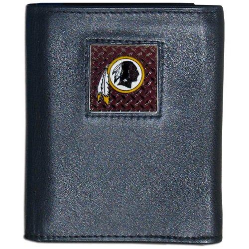 NFL Washington Redskins Gridiron Leather Tri-Fold Wallet
