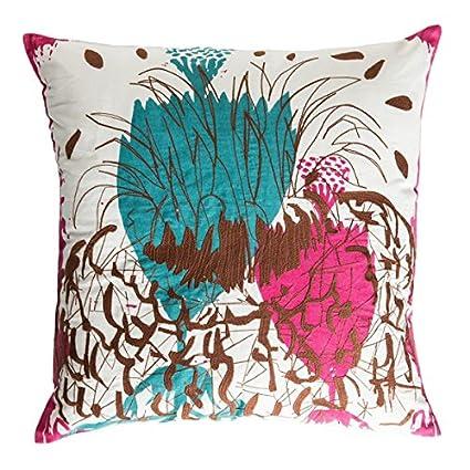 Amazon.com: Koko Cactus - Almohada de algodón, 20.0 x 20.0 ...