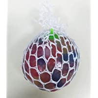 Children Toy Flash light built-in Squishy Mesh Slime Balls Magic Squeeze Grape Soft Rubber Anti Stress Toy Stress Relief…