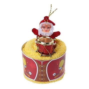 """Regalo de Navidad decorativo toalla de tejido toalla de baño trapo Navidad mignonne""""toalla presente"""