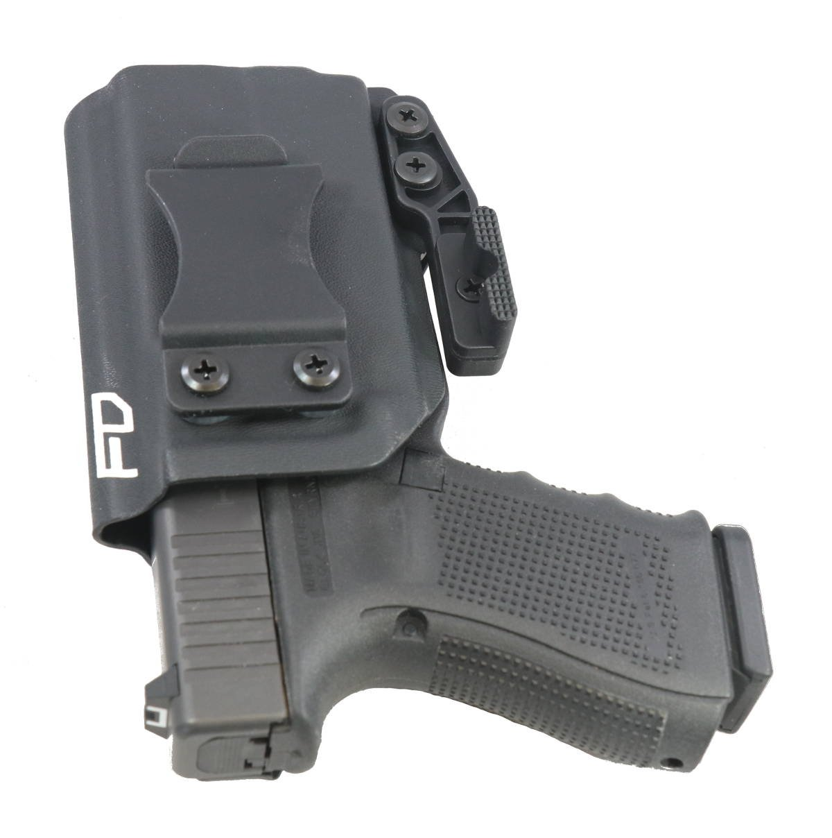 Amazon.com : Fierce Defender IWB Kydex Holster Glock 19 23 32 w/Olight PL-Mini Valkyrie The Paladin Series -Made in USA- GEN 5 Compatible : Sports & ...