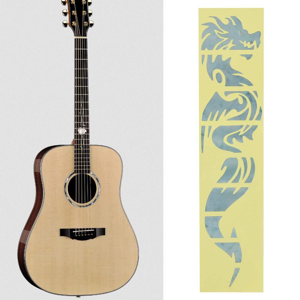 Colore : Silver ZhanPing Classical Guitar Parts 6,35 Millimetri Bass Ingresso e di Uscita della Chitarra Jack Socket