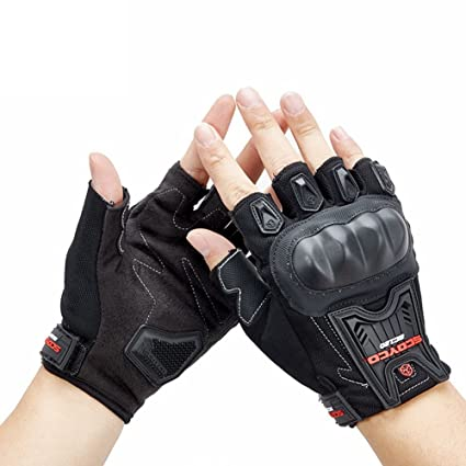 6052bcfb372c CTRICKER Cycling Gloves Half Finger Gym Fitness Gloves Sports Motorbike  Motorcycle Mountain Bicycle Bike Gloves (