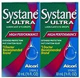 Systane Ultra Lubricant Eye Drops-0.338 oz, 10mL, 2 pack