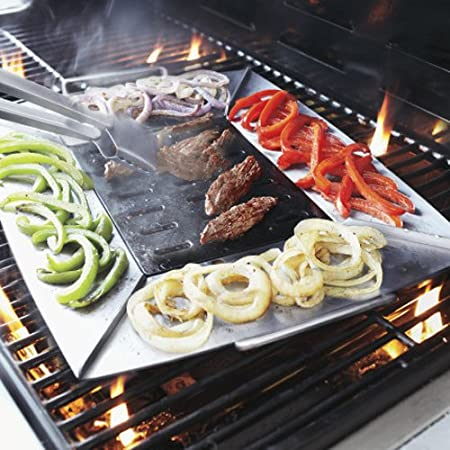 Amazon Com Sur La Table Grill And Sear Plancha Cc7209 Garden