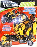 TransFormers Jumbo Coloring & Activity Book - Bumblebee (Red)