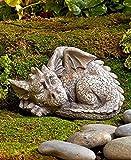 Besti Decorative Outdoor Dragon Garden Statue – Cold Cast Ceramic Statue