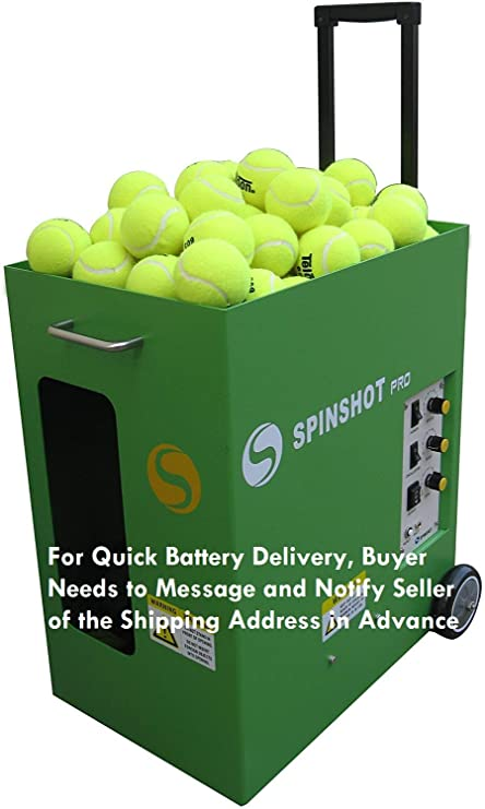 Amazon.com: Spinshot-pro - Máquina de pelotas de ...