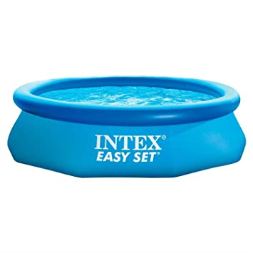 Hervorragend Intex Easy Set Aufstell pool blau Ø305x76cm, 3,853Ltr, 28122GN  IN18