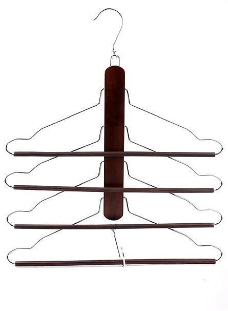 De madera multifuncional madera maciza toallas de ropa de ...