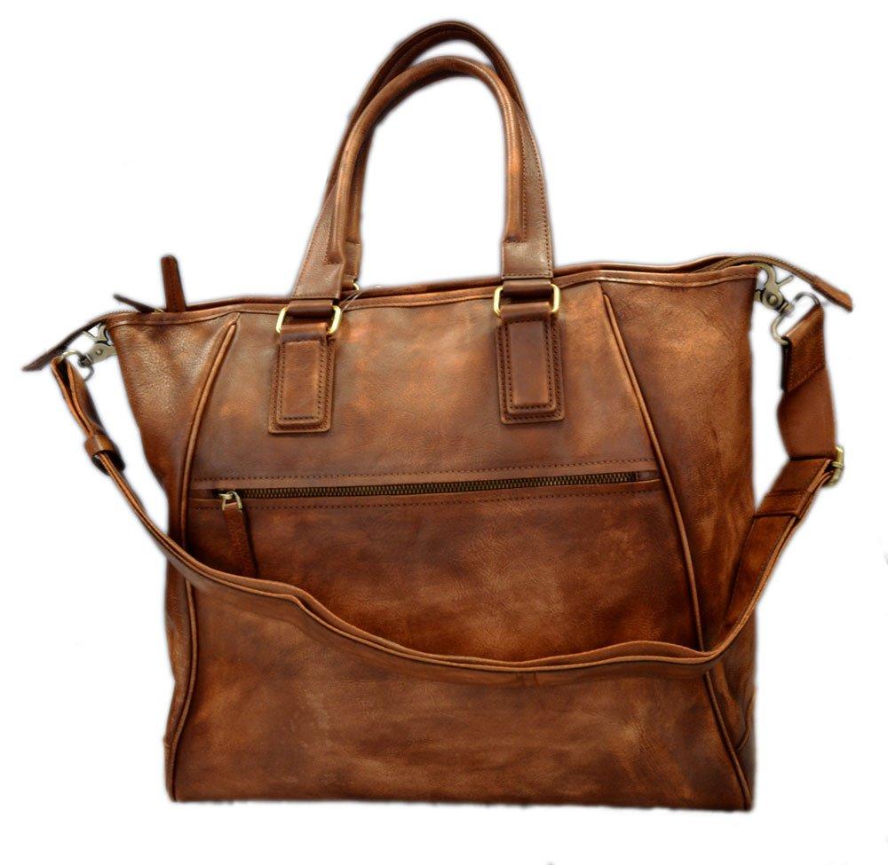 Leather ladies handbag brown shopper shopping bag shoulder bag luxury bag women handbag washed leather women leather vintage leather purse
