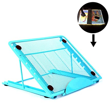 Particular Design for A4 Led Light Pad Box Tablet Board Stainless Steel Multi-Angle Adjustment Relieve Stiff Neck Pain Stand for Light Pad of Diamond Painting