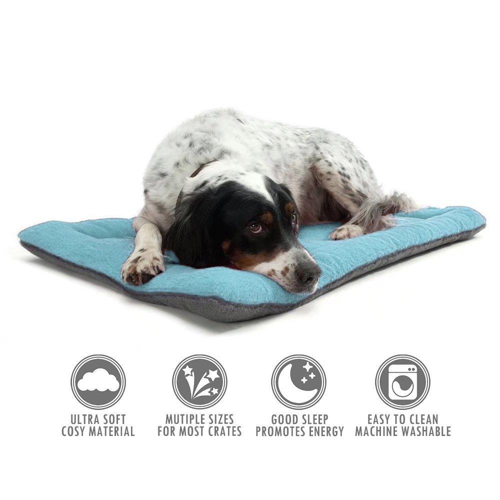 fino al 60% di sconto LMKIJN LMKIJN LMKIJN Cuscino per materassi per Letti per Cani Cuscino per Materasso Confortevole Ovunque Blu per Il Tuo Animale  risparmia fino al 30-50% di sconto