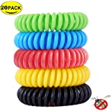 I-pure items 10 Pack Mosquito Repellent Bracelets - Natural Insect Bug Repellent Bands,Waterproof Non-Toxic Safe For Kids,Indoor Outdoor Protection,Protection Up To 350 Hours